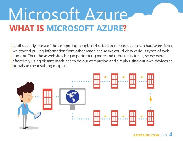 Microsoft Azure WHAT IS MICROSOFT AZURE? Until recently, most of the computing people did relied on their device's own har...