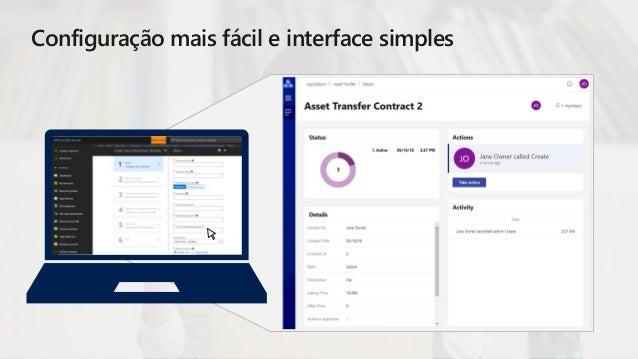 Configuração mais fácil e interface simples Configure basic settings AAD Parameters Network size and parameters Operations...