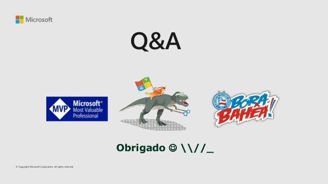 Microsoft Connect(); Brasil Azure blockchain