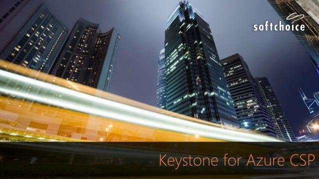 Keystone for Azure CSP