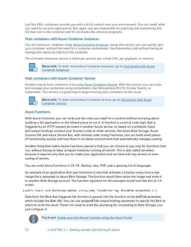 Microsoft - Azure Developer Guide - 2 Edition