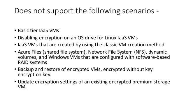 Understand Disk Encryption in Azure Virtual Machines