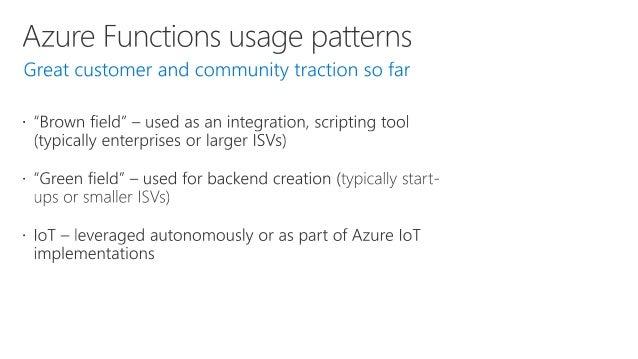 http://wakeupandcode.com/azure-functions-dev-workflow/ > npm i -g azure-functions-core-tools > func init > func new > func...