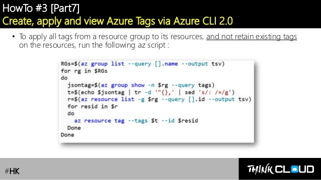 Azure Governance] Lesson 3 : Azure Tags