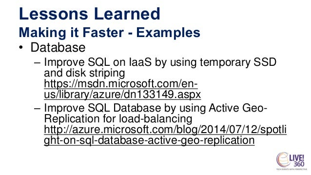 Migrating Customers to Microsoft Azure: Lessons Learned From the Field