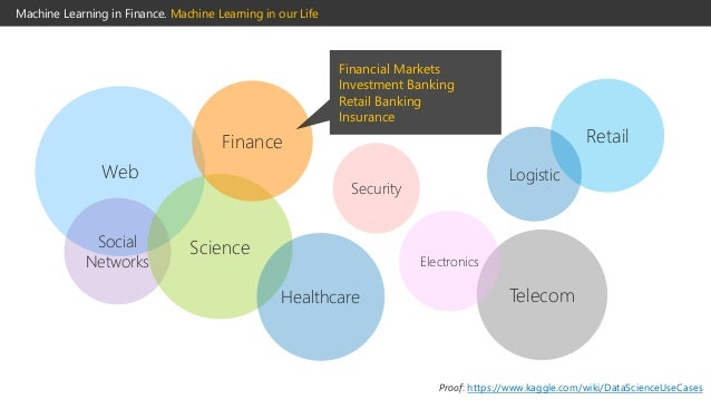 finance machine learning