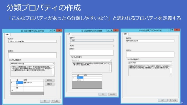 分類したファイルに対する「アクション」と実行スケジュールを定義する