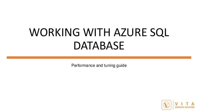 Monitorando performance no Azure SQL Database