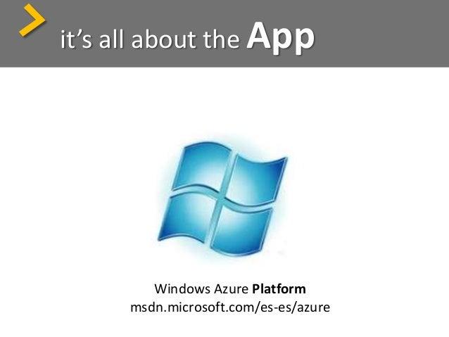 Windows Azure Platform Services > + Betas: Dallas, Azure Connect, VMRole, Remote Desktop…