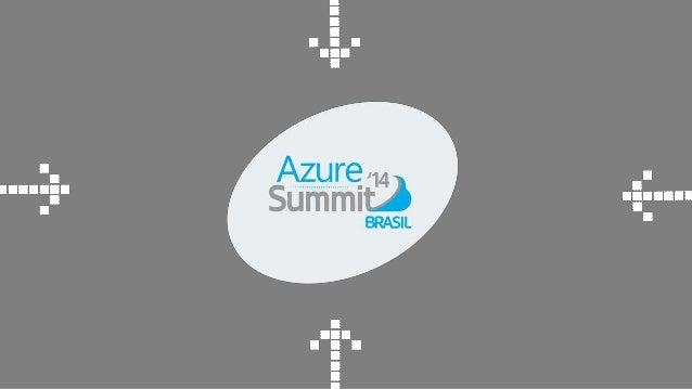 AUDITÓRIO 1  DESENVOLVIMENTO  Por que o Cloud  Services do Azure é o  melhor dos mundos?  Palestrante  Fabrício Lopes Sanc...