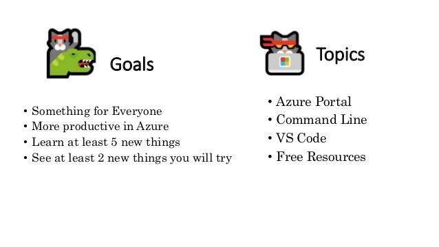 Azure Ninja Tips and Tricks Slide 3