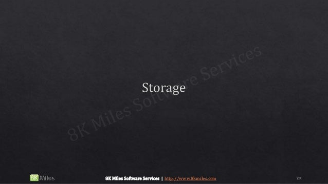 288K Miles Software Services || http://www.8kmiles.com