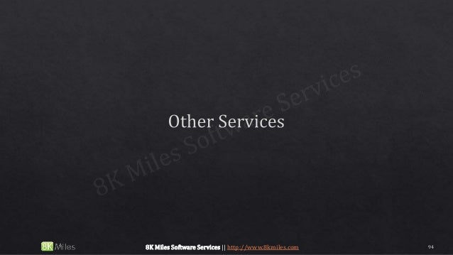 948K Miles Software Services || http://www.8kmiles.com