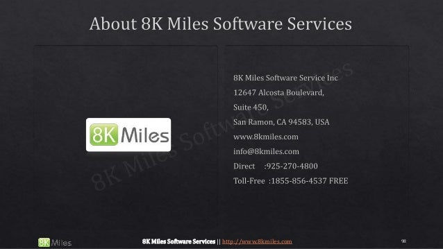 988K Miles Software Services || http://www.8kmiles.com