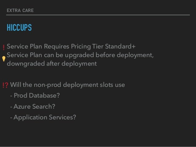 Azure Deployment Slots Pricing