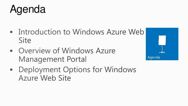 Windows Azure Webs Sites Slide 2