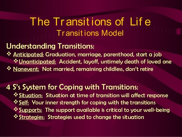 life transitions Personalized therapeutic & holistic treatment for anxiety, depression and dual-diagnosis for individuals going through life transitions and challenges.