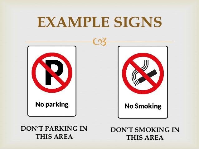 b inggris explaining or sign and symbols