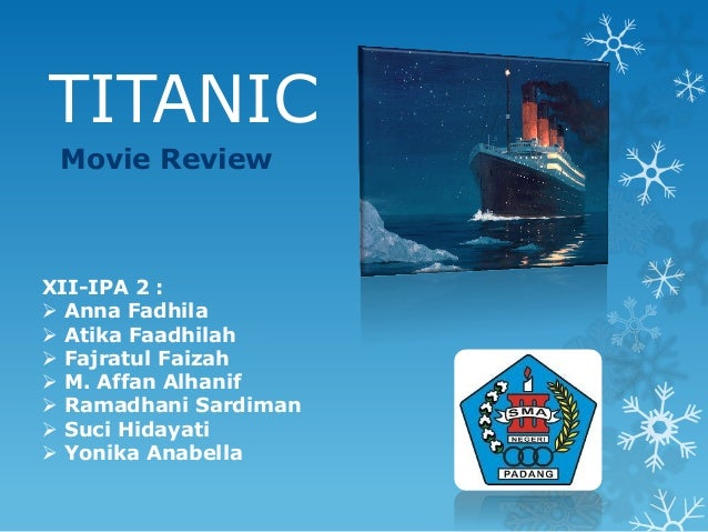 """titanic movie essay introduction Introduction titanic survivor jack thayer later wrote that the demise of the white star vessel was """"the event which not only made."""