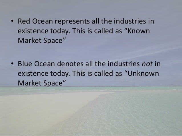 blue ocean strategy criticism The blue ocean strategy authored by w chan kim and renée mauborgne, professors at insead and co-directors of the insead blue ocean strategy institute.