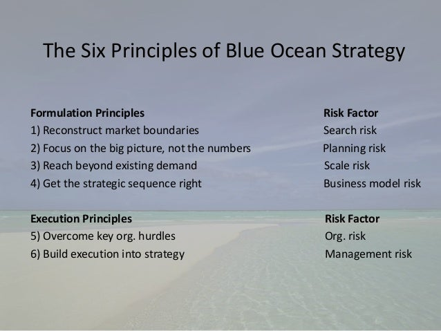 blue ocean book review She is also co-director of the insead blue ocean strategy institute  the global  bestseller blue ocean strategy (harvard business review press) and the just  released,  her book blue ocean strategy has sold over 36 million copies and  is.