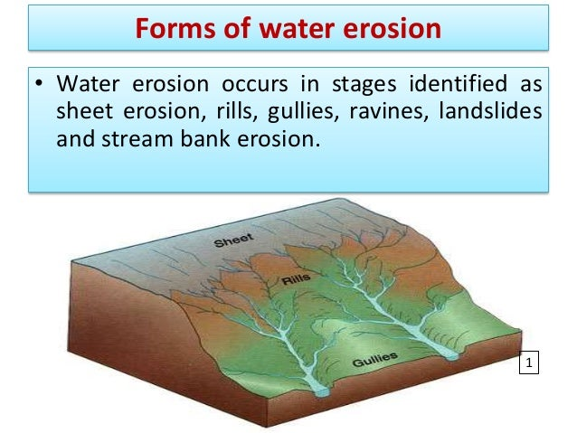 3 types of erosion