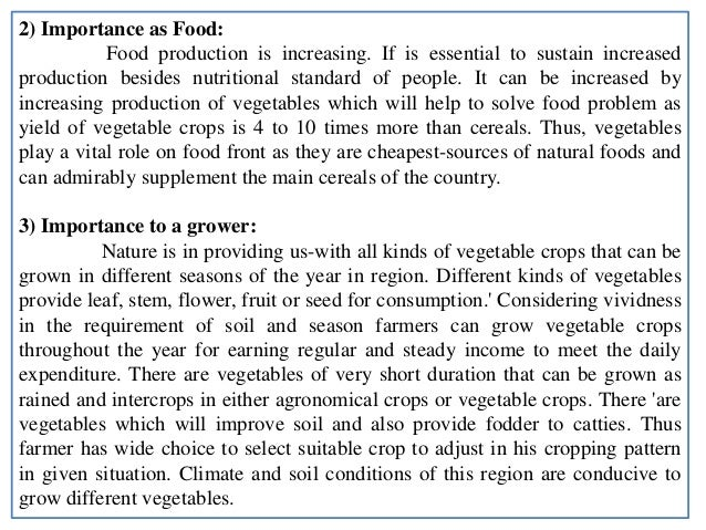 scope and importance of fruit crops