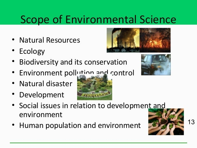 Problem Of Conservation Of Natural Resources
