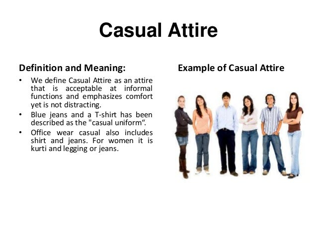 What Is The Meaning Of Casual