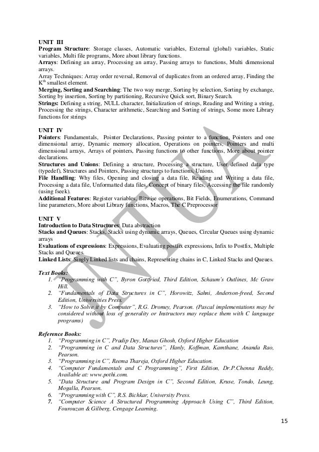 B tech mechanicalengg r13 syllabus recursion 15 fandeluxe Image collections