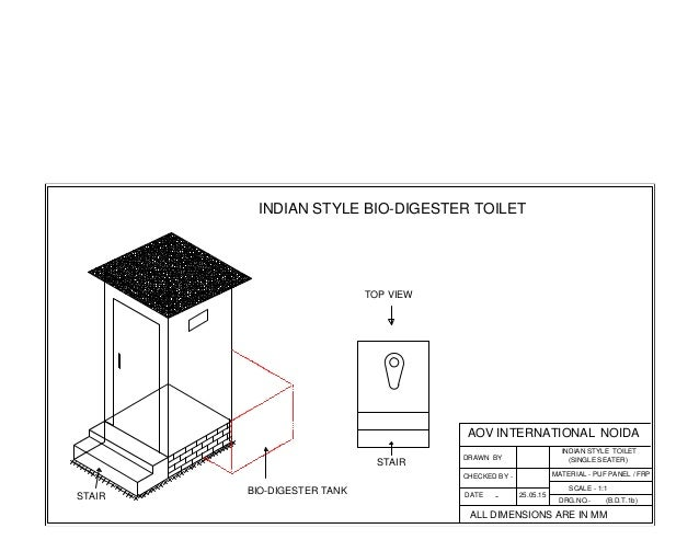 Bio Toilet Drawings 2