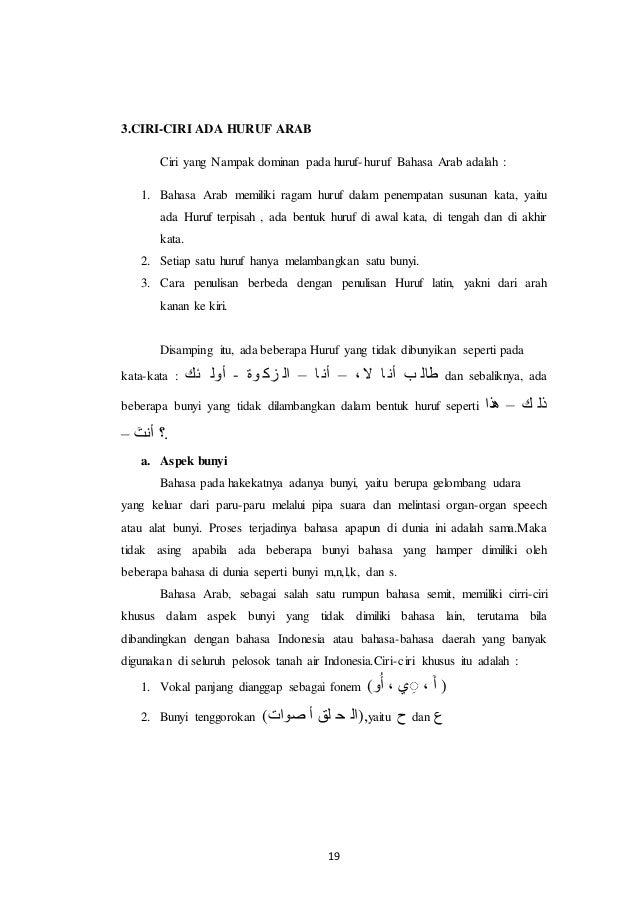 B Arab Huruf Edit 5