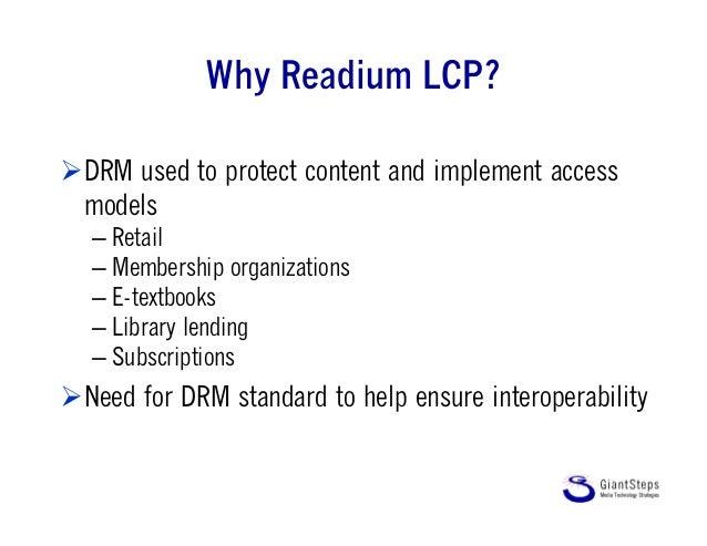 B.Rosenblatt presentation of LCP, epub summit Slide 2