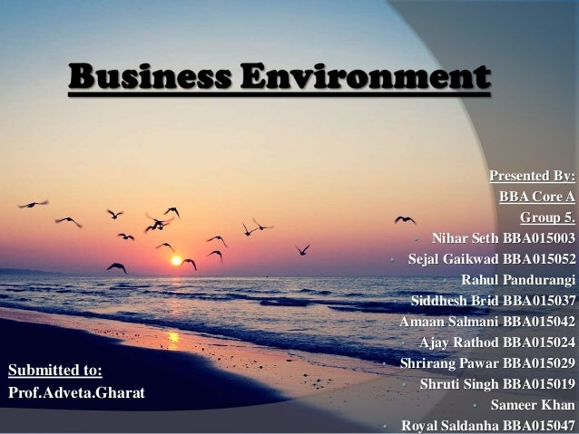 Presented By: BBA Core A Group 5. • Nihar Seth BBA015003 • Sejal Gaikwad BBA015052 • Rahul Pandurangi • Siddhesh Brid BBA0...