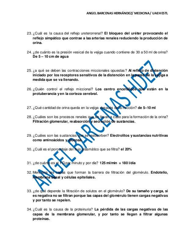 CAP. 26 DE FISIOLOGIA MÉDICA GUYTON & HALL. GUIA DE EXAMEN