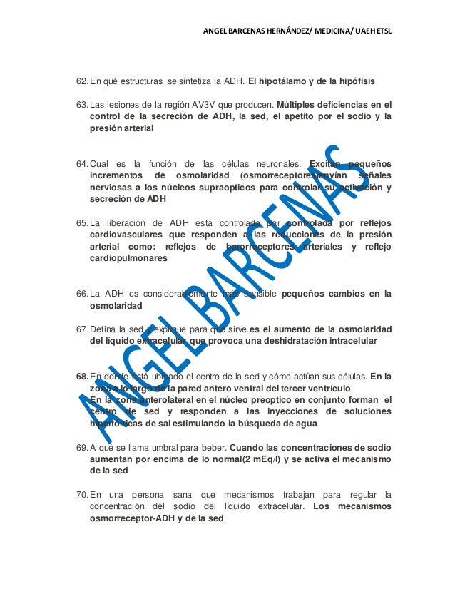 CAP. 28 DE FISIOLOGIA MÉDICA GUYTON & HALL. GUIA DE EXAMEN