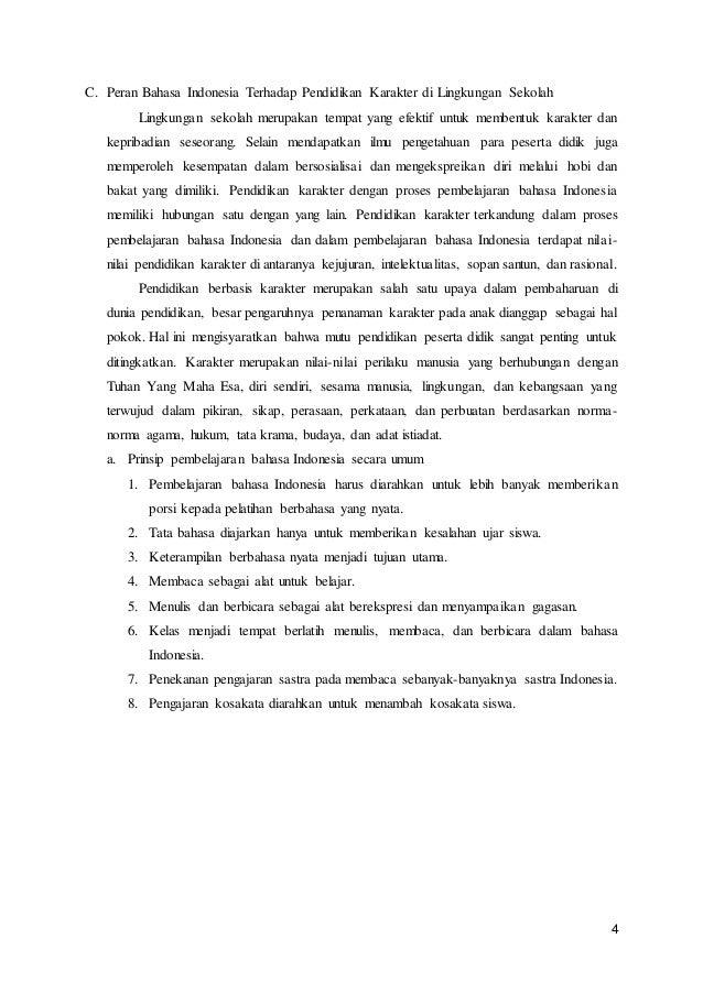 Contoh Rumusan Masalah Makalah Bahasa Indonesia