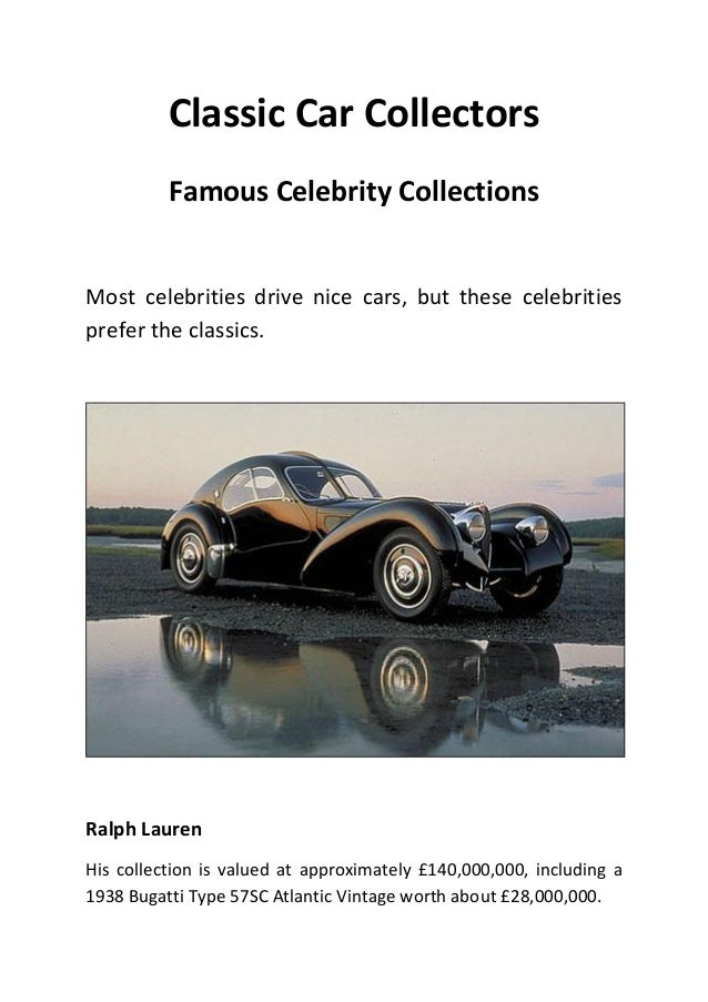 Famous Classic Car Collectors