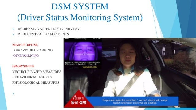 Driver Status Monitoring system