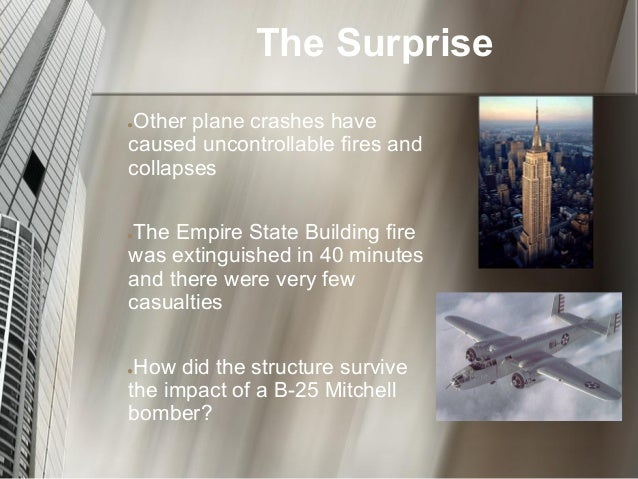 B 25 Empire State Building Crash Presentation
