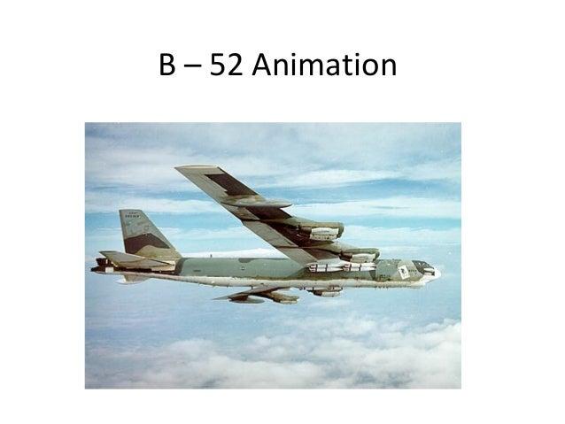 B – 52 Animation