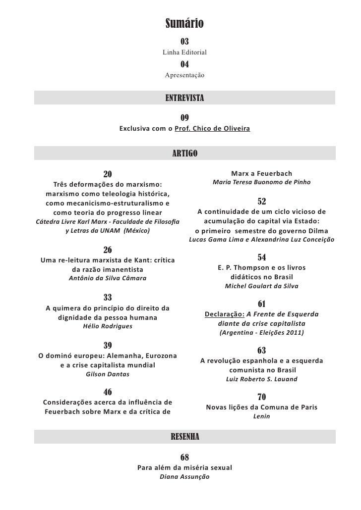 Sumário                                                   03                                          Linha Editorial     ...