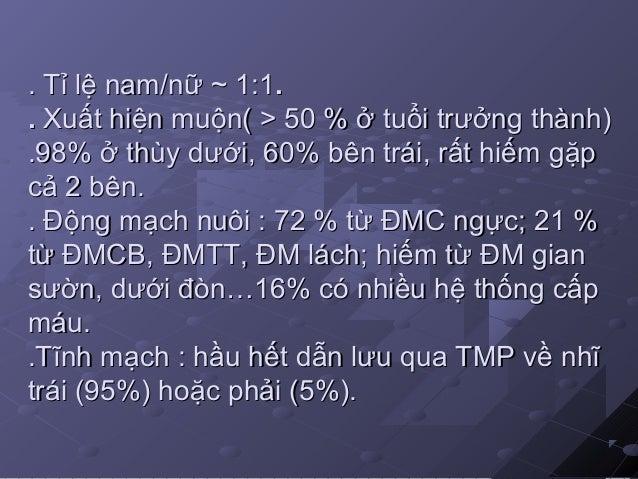 .. TM: qua TM đơn or TMC dưới(80%), ~ 25 %TM: qua TM đơn or TMC dưới(80%), ~ 25 % dẫn lưu một phần qua TM phổi.dẫn lưu một...