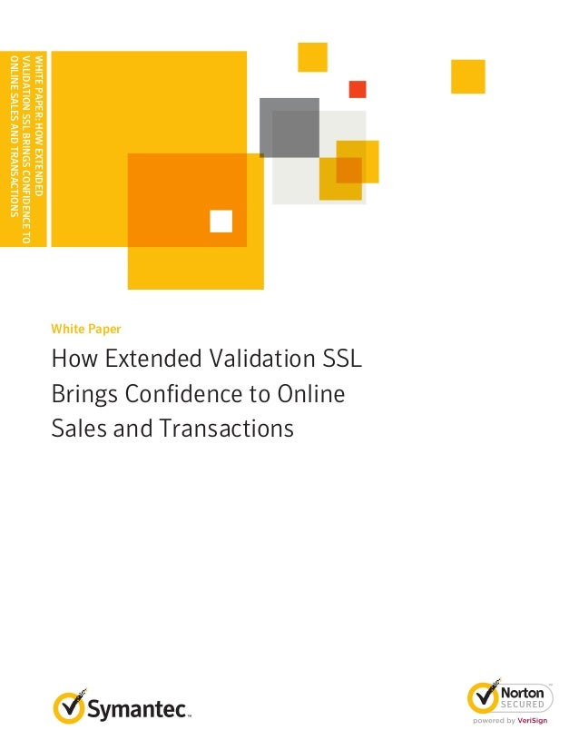 How Extended Validation (EV) SSL Certificate brings confidence to onl…