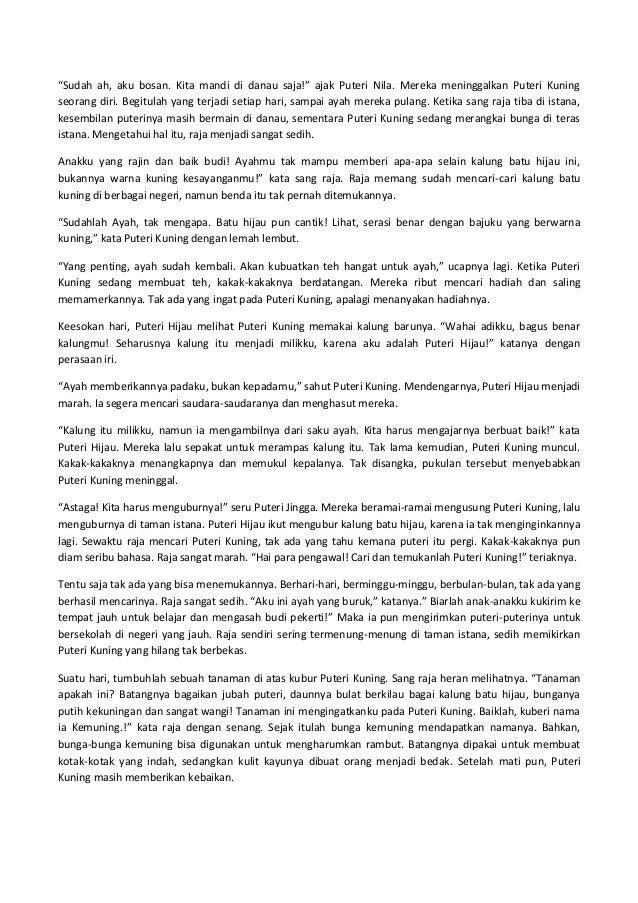 B Indonesia Hikayat Bunga Kemuning