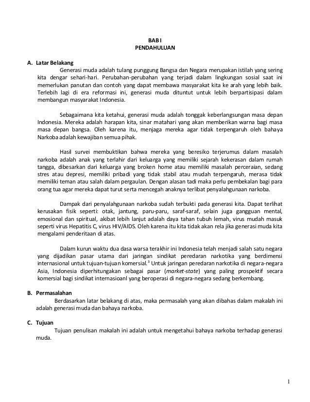 Contoh Skripsi Narkoba Contoh Soal Dan Materi Pelajaran 8