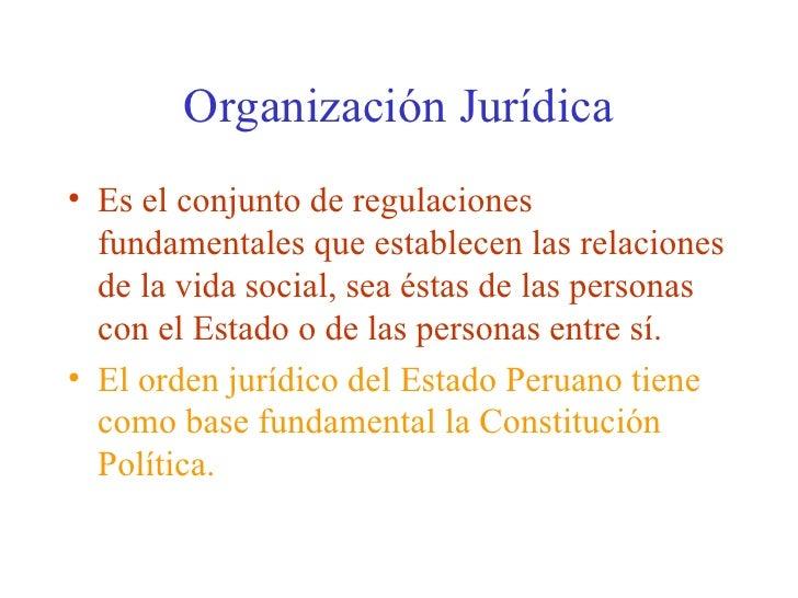 B La Estructura Del Estado Peruano