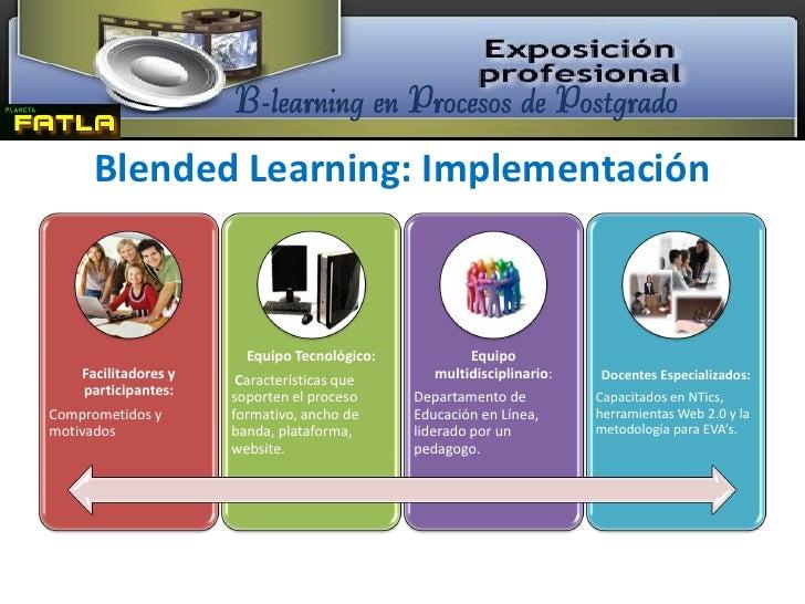 B learning en procesos de postgrado