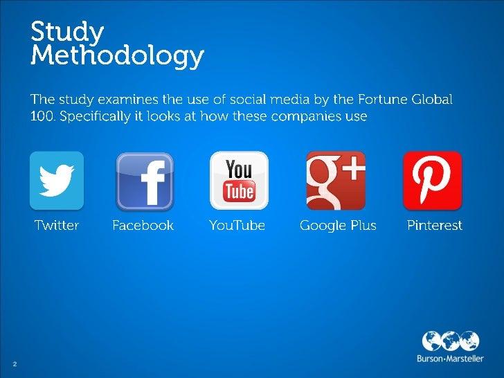 Burson-Marsteller Global Social Media Check-Up 2012 Slide 2
