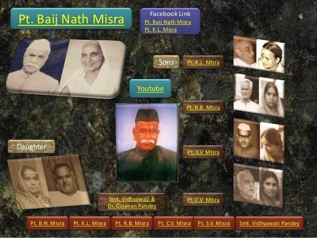 Facebook LinkPt. Baij Nath Misra                                Pt. Baij Nath Misra                                       ...